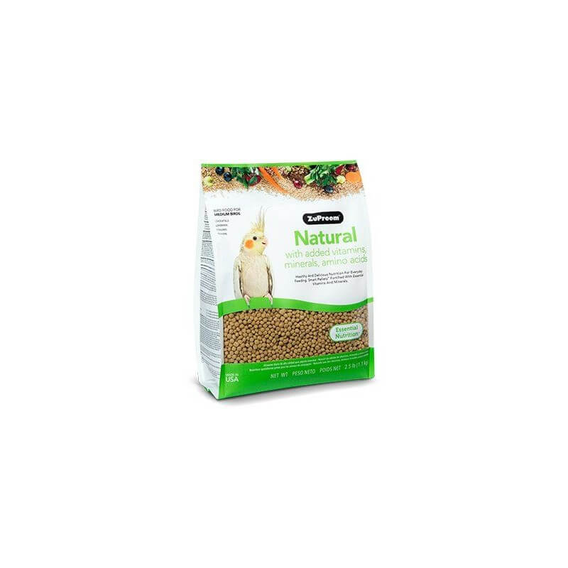 ZuPreem Natural Medium Parakeet 1,1kg