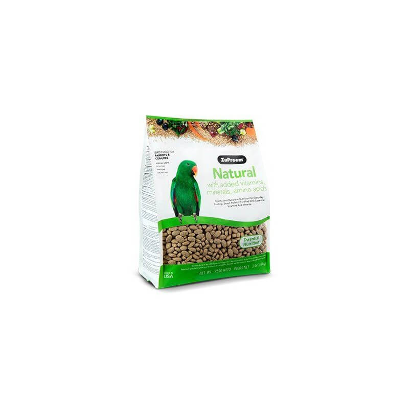 ZuPreem Natural Medium/Large Parrots & Conures 1,4kg